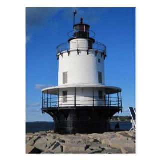 Bug Light Lighthouse in Portland, ME Postcard
