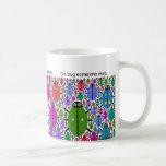 bug me not classic white coffee mug