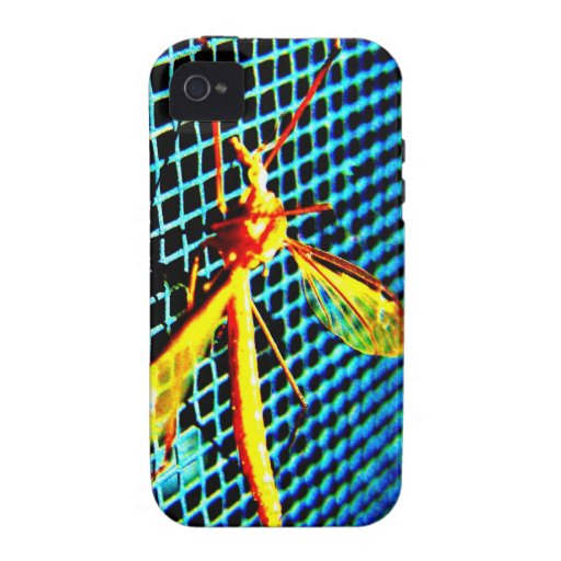 Bug on a Screen iPhone 4 Cases