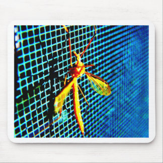 Bug on a Screen Mousepads