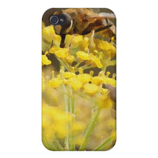 Bug on Flower iPhone 4/4S Covers