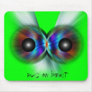 Bug On Impact Mouse Pad