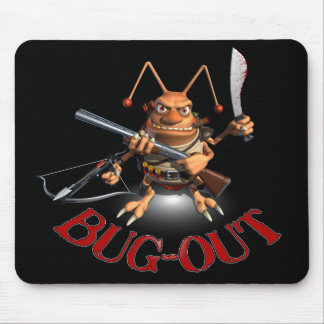 Bug-Out Cockroach style. Mouse Mat