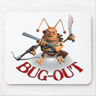 Bug-Out Cockroach style. Mouse Pad