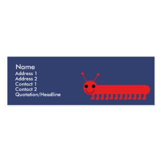 Bug - Skinny Business Card Templates