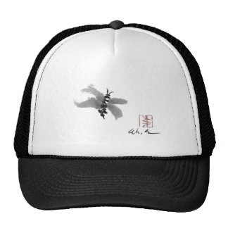 Bug, Sumi-e by Andrea Erickson Hats