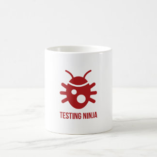 Bug Testing Ninja Coffee Mug