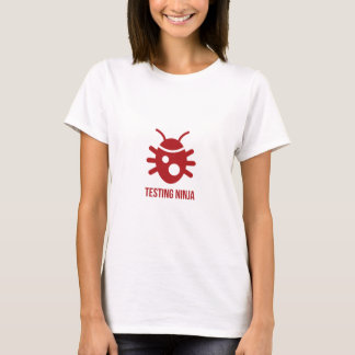 Bug Testing Ninja T-Shirt