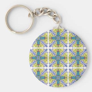 Bug tile key chains