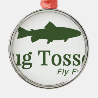 Bug Tosser Logo Christmas Ornament
