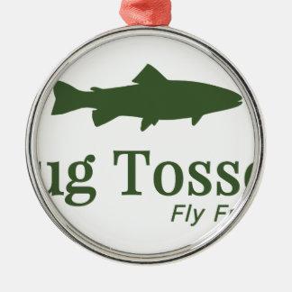 Bug Tosser Logo Christmas Ornament