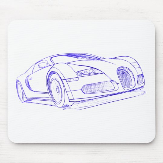 Bug Vryn pncil sketch Mouse Pad