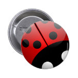 Bugged Out Flair 6 Cm Round Badge