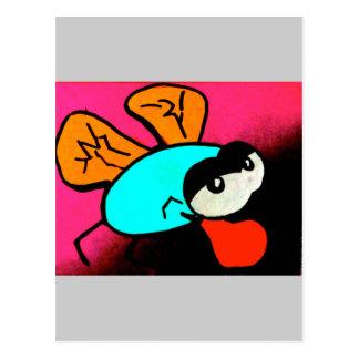 Buggin boxing postcard