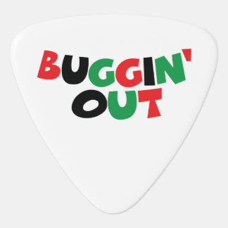 Buggin' Out Guitar Pick