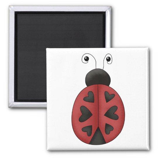 Buggin' You · Ladybug Hearts Magnet