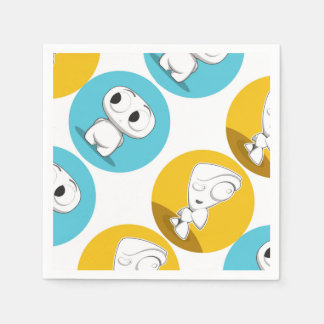'Buggles and Awe' Paper Napkins Disposable Serviette