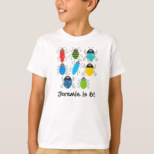Buggy Birthday Customised T-shirt