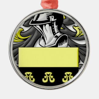 Buggy Coat of Arms Christmas Tree Ornament