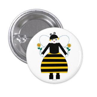 Buggy Martzkin Honey Bee Button