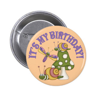 Buggylicious Birthday 6 Cm Round Badge