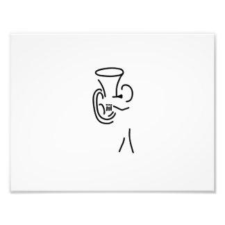 bugler tuba more blechblaeser