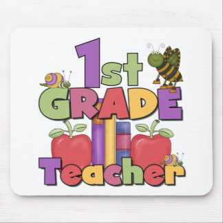 Bugs and Apples 1st Grade Mouse Mat