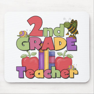 Bugs and Apples 2nd Grade Mouse Mat