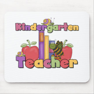 Bugs and Apples Kindergarten Teacher Mouse Pads