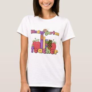 Bugs and Apples Kindergarten Teacher T-Shirt
