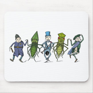 Bugs and Brownies Do a Dance Mouse Pad