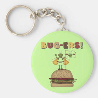 Bugs and Burgers Tshirts and Gifts Keychains