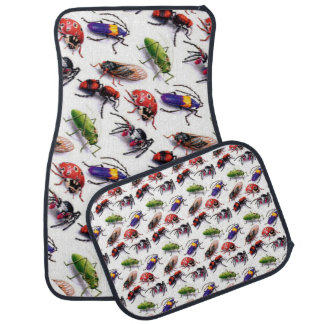 bugs bugs crawling everywhere car mat