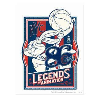 BUGS BUNNY™ 86ers Postcard