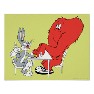 BUGS BUNNY™ and Gossamer 2 Poster