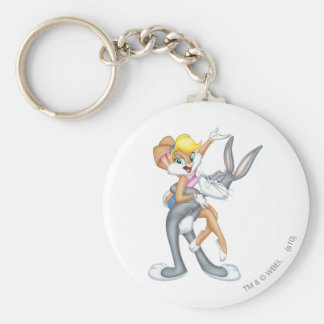 Bugs Bunny and Lola Bunny 2 Key Chain