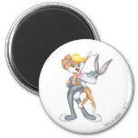 Bugs Bunny and Lola Bunny 2 Refrigerator Magnet