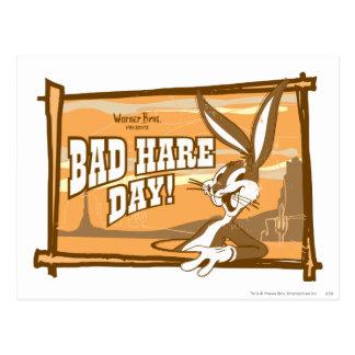 BUGS BUNNY™ Bad Hare Day! Postcard
