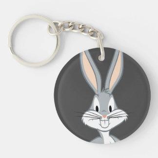 BUGS BUNNY™   Bunny Stare Key Ring