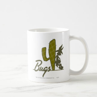 BUGS BUNNY™ Cowboy Leaning on Cactus Coffee Mug