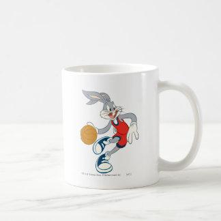 BUGS BUNNY™ Dribbling Through The Competition Basic White Mug