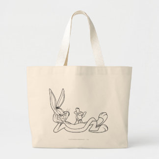 BUGS BUNNY™ Eating Carrot 2 Large Tote Bag