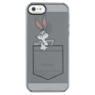 BUGS BUNNY™ Hanging Out In Pocket Clear iPhone SE/5/5s Case