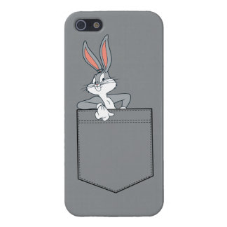 BUGS BUNNY™ Hanging Out In Pocket Cover For iPhone 5/5S