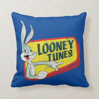BUGS BUNNY™ LOONEY TUNES™ Retro Patch Cushion