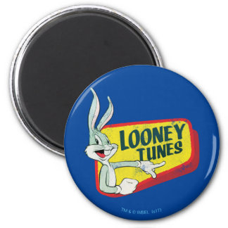 BUGS BUNNY™ LOONEY TUNES™ Retro Patch Magnet