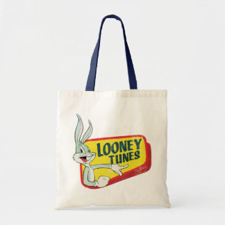 BUGS BUNNY™ LOONEY TUNES™ Retro Patch Tote Bag