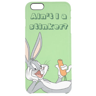 BUGS BUNNY™ Lying Down Eating Carrot Clear iPhone 6 Plus Case