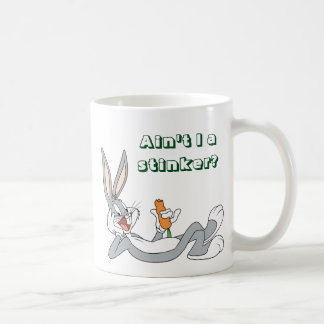 BUGS BUNNY™ Lying Down Eating Carrot Coffee Mug