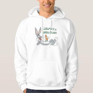 BUGS BUNNY™ Lying Down Eating Carrot Hoodie